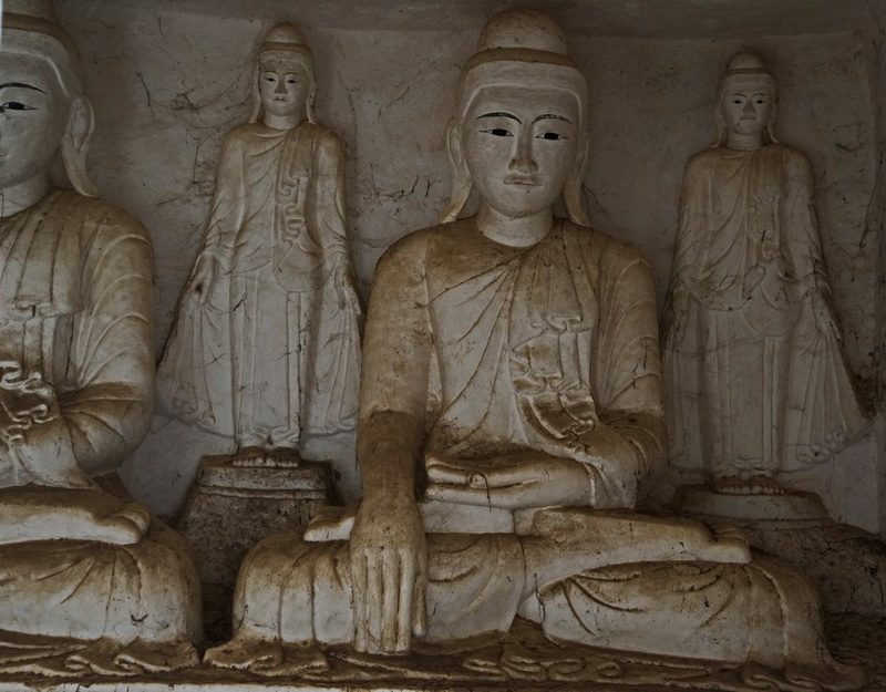 Buddhist Art Po Win Taung Caves