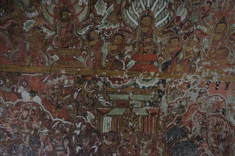 Buddhist Wall Art Po Win Caves