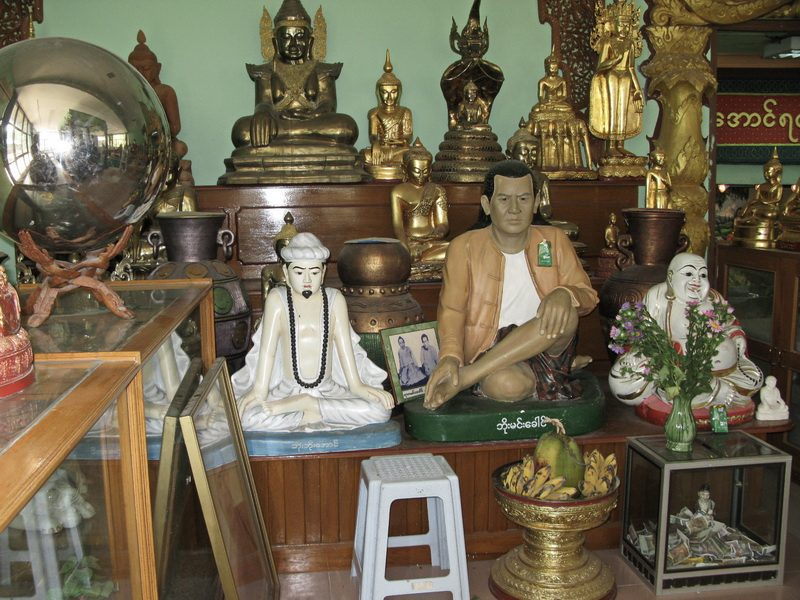 Buddha Images and offerings