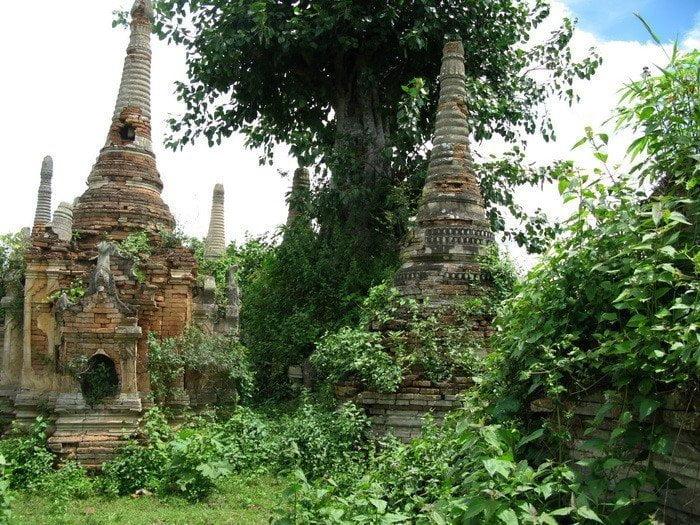 Burmese Buddha Art Shan