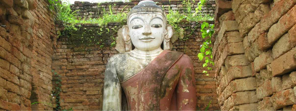 Burmese Buddha, Buddhist Iconography, Historical Sites