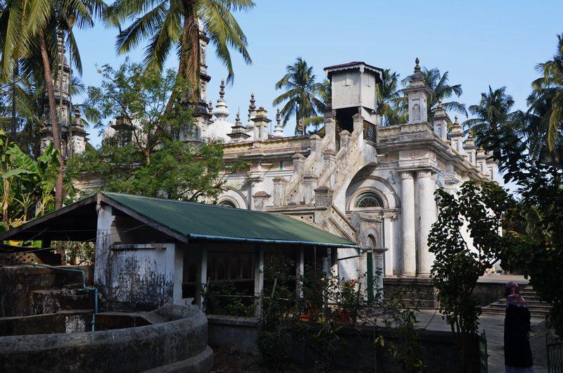 Back view Sittwe Mosque, Rakhine State