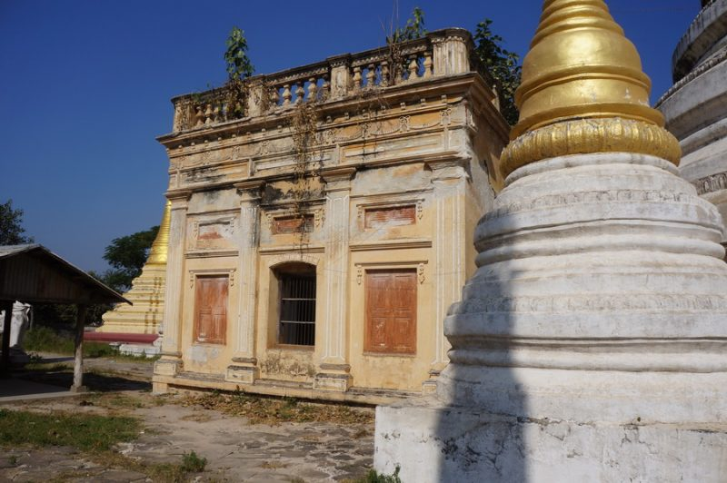 Entrance to inner building at Myu-U Thar Pagoda